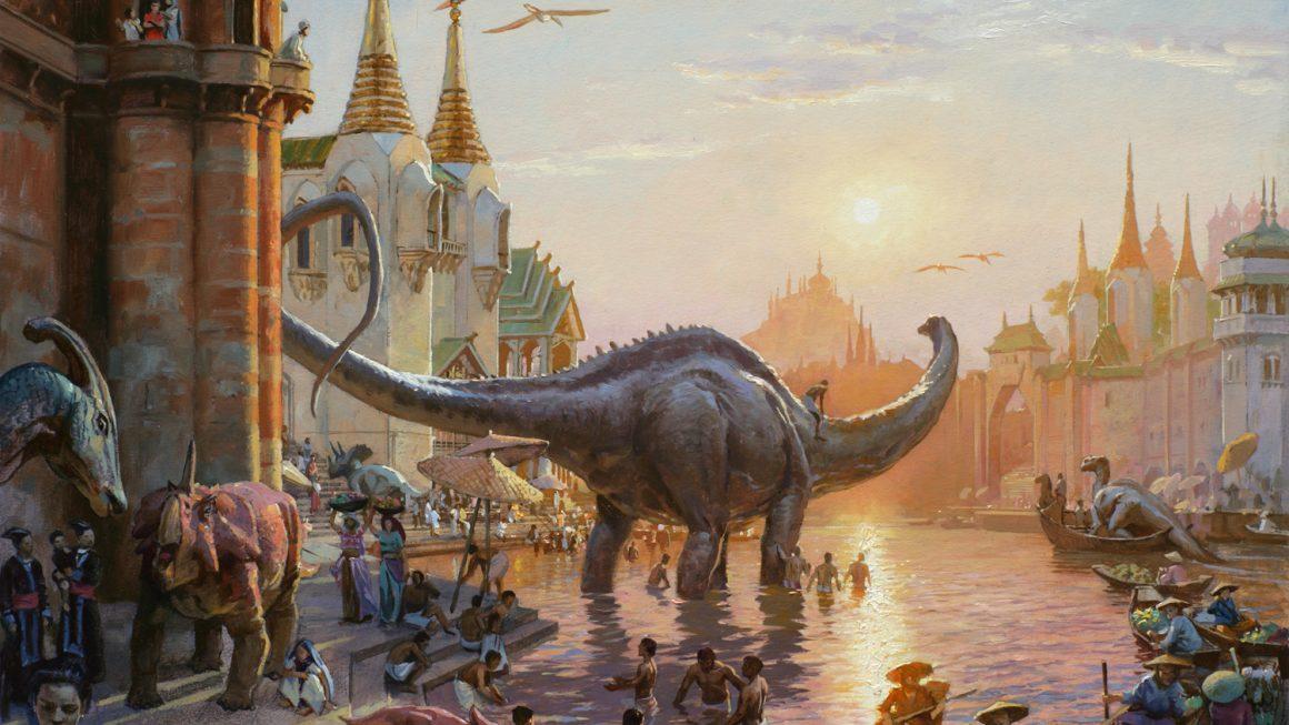 James Gurney y su Dinotopia