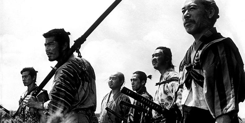 Los siete samuráis by Akira Kurosawa