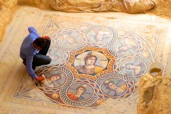 El mosaico perdido de Zeugma
